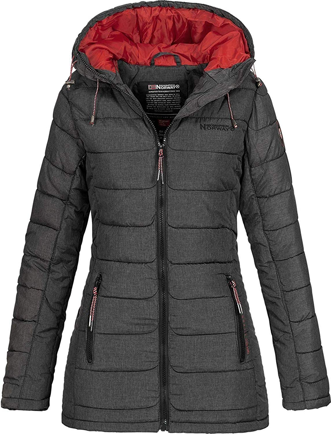 Geographical Norway Astana - Parka con capucha para mujer