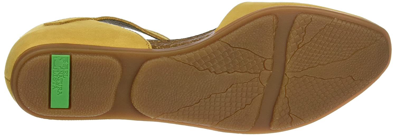 El Naturalista Damen Nd54 Gelb Knöchelriemchen Sandalen Gelb Nd54 (Curry) 7171b8