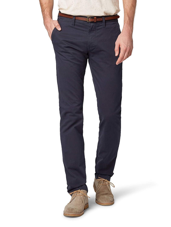 TALLA 30W / 30L. Tom Tailor Essential Chino, Pantalones para Hombre