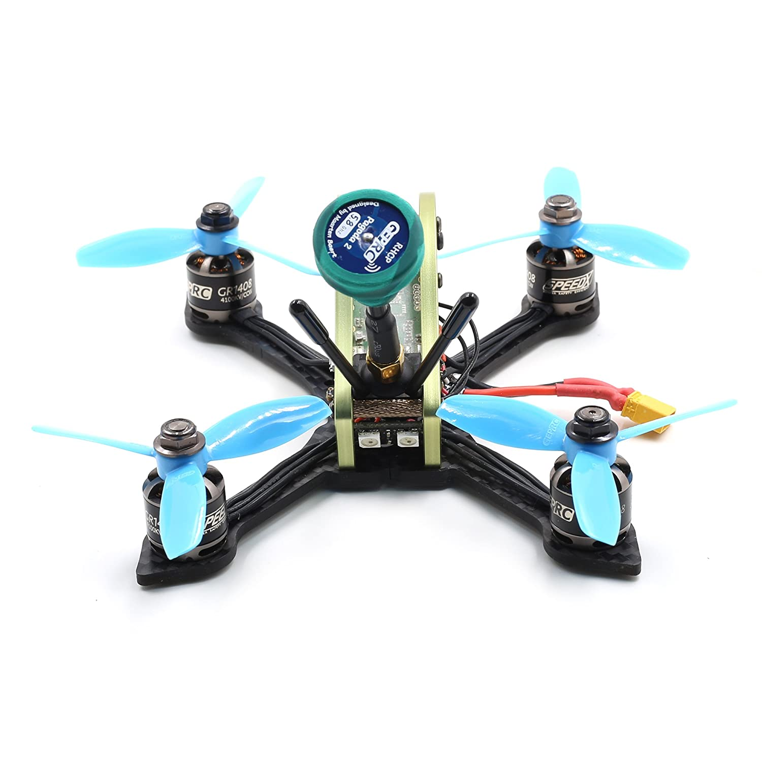 Amazon YUFAY GEPRC Sparrow Micro FPV Quadcopter Quad Race Drone 3inch Frame GEPRC MX3 Green for FPV Racing Drone Kit Toys & Games