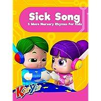 Sick Song & More Nursery Rhymes For Kids - KiiYii