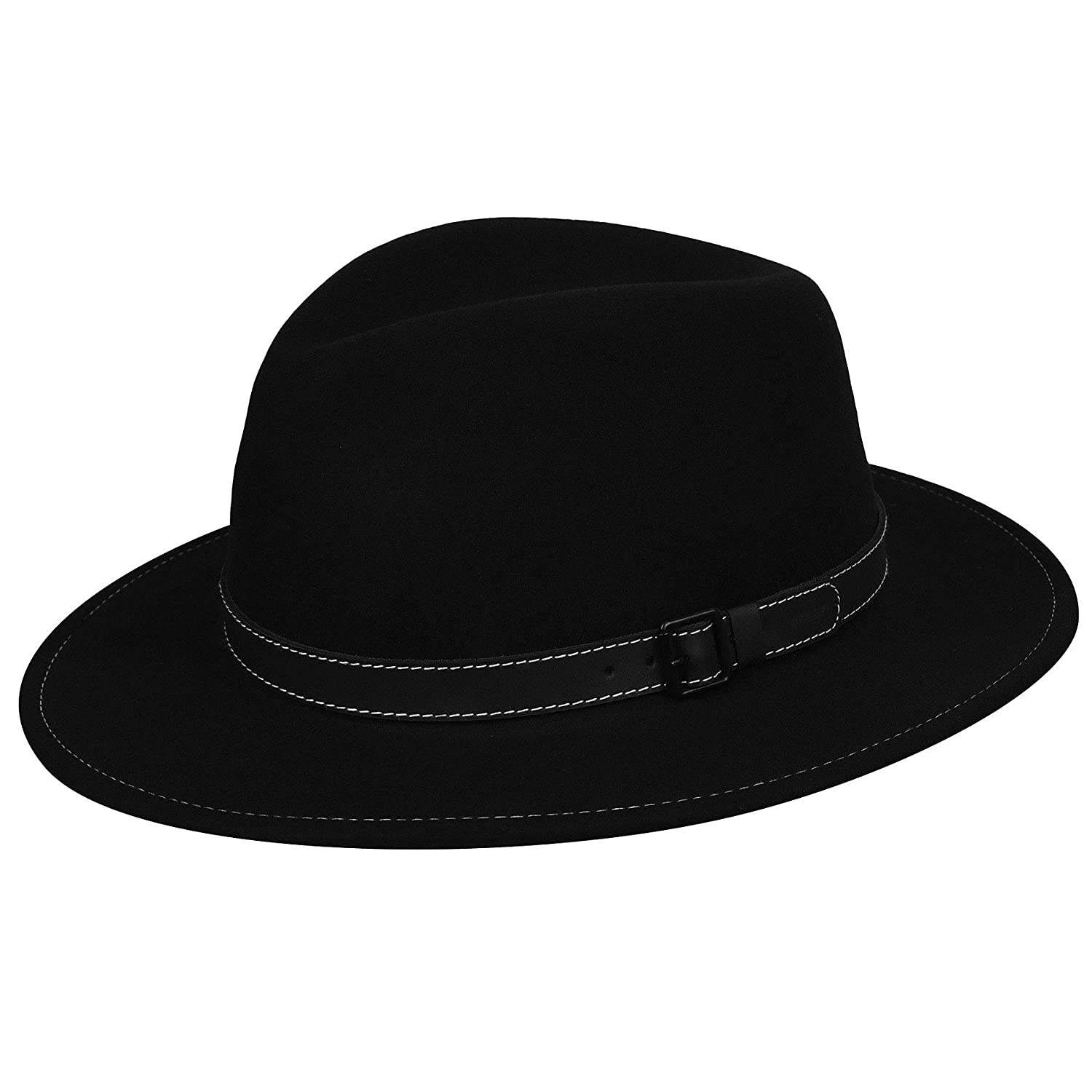66bcbf6b9 Bailey of Hollywood Men's Wilmer Fedora Trilby Hat at Amazon Men's Clothing  store: