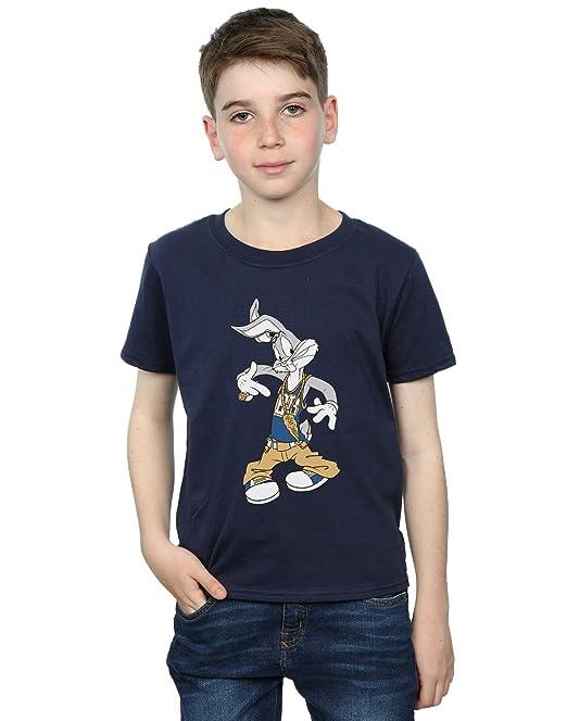 Looney Tunes niños Bugs Bunny Rapper Camiseta  Amazon.es  Ropa y accesorios e9ac9edf187