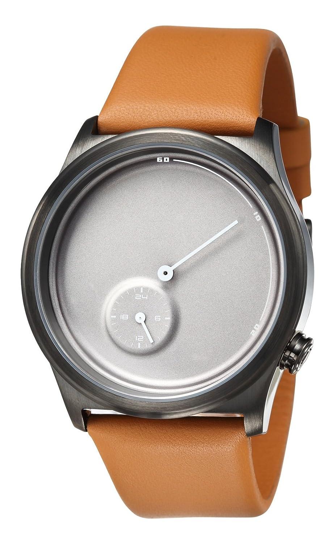 TACS Unisex-Armbanduhr Twenty4 Analog Quarz Leder TS1101B