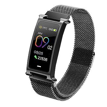 Veotopia Smartwatch F8 - Reloj podómetro para Hombre (Resistente ...