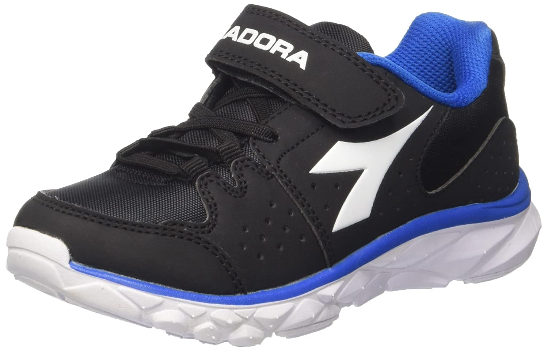 Diadora Boys Hawk 8 Jr Competition Running Shoes Black Nero Jet/bianco 13 UK
