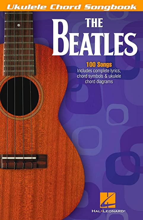 Amazon Hal Leonard The Beatles Ukulele Chord Songbook Hal