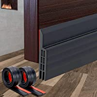 2 Pack,Door Draft Stopper   Under Door Seal Under Door Draft Blocker, Soundproof Door Bottom Weather Stripping ,Anti…