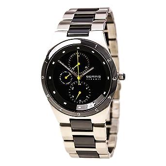 BERING Reloj Analógico para Hombre de Cuarzo con Correa en Acero Inoxidable 32339-722: Amazon.es: Relojes