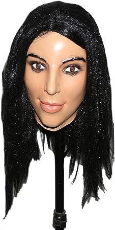 Hengyutoy Mask Femenino Máscara de Látex con Peluca Suave & Sexy: Amazon.es: Juguetes y juegos