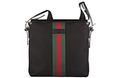 design innovativo 8a14b 59ce4 Gucci borsa uomo a tracolla borsello originale nero: Amazon.it ...
