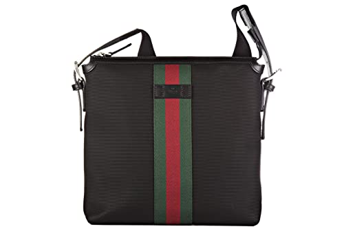 e5dafd3661 Gucci borsa uomo a tracolla borsello originale nero: Amazon.it: Scarpe e  borse
