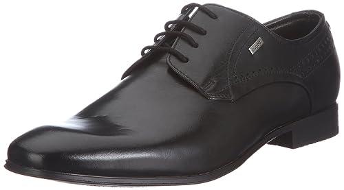 sports shoes 867d8 2587f Bugatti Mattia U18011 - Zapatillas clásicas de napa para hombre  Amazon.es   Zapatos y complementos