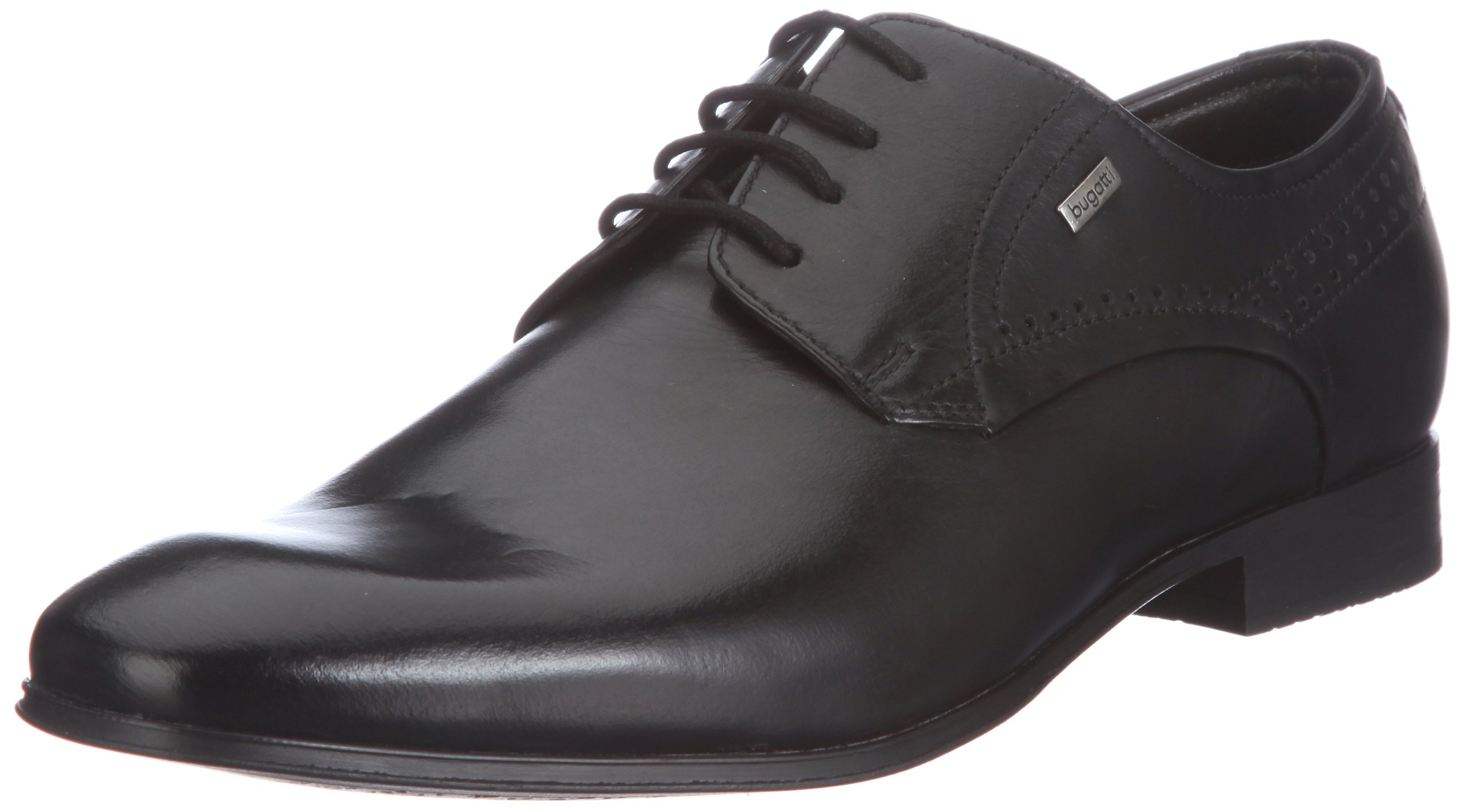Bugatti Boys' Misters Of Shnuyershuye Black Leder Oxfords Shoes 42 by Bugatti