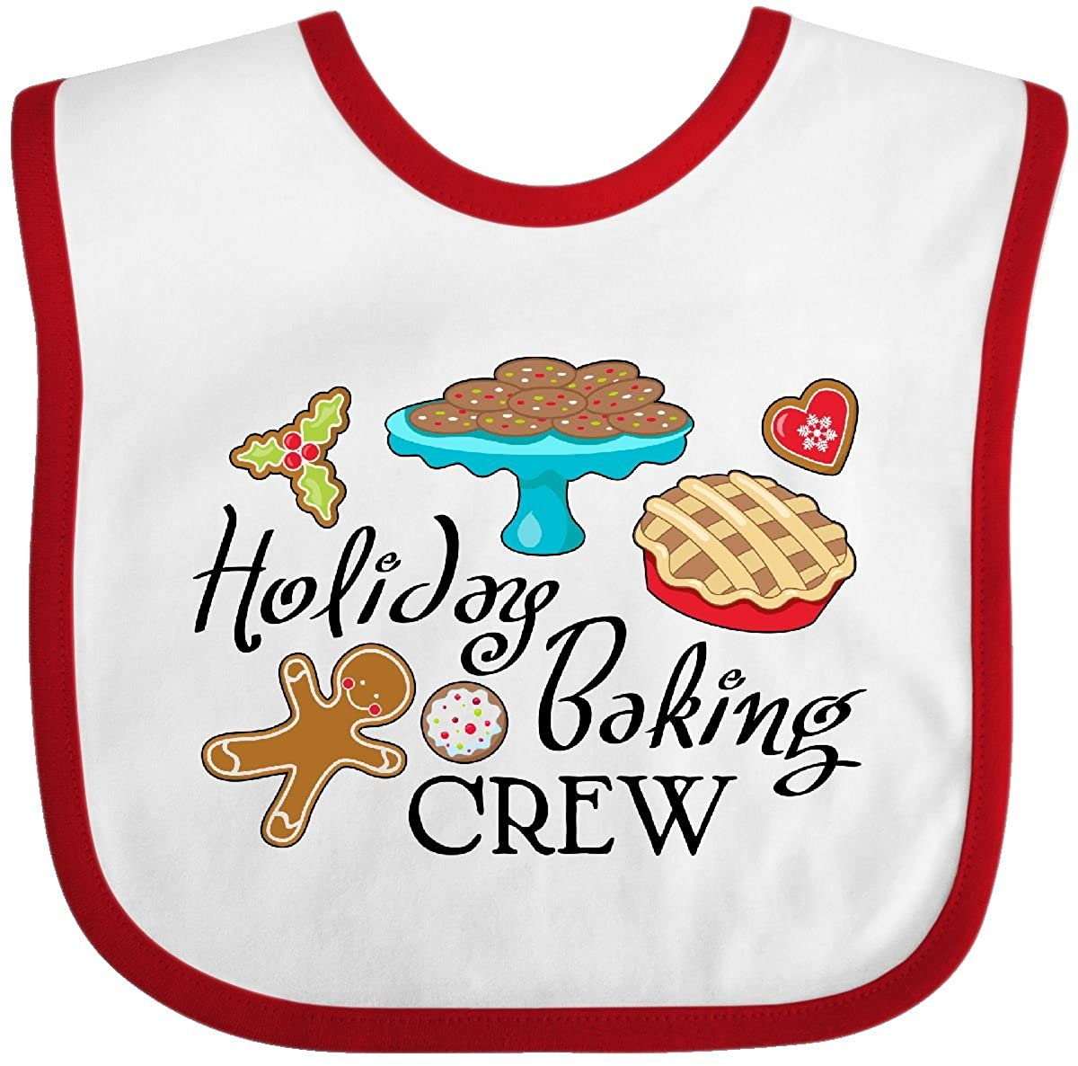 Holiday Baking Crew Baby Bib