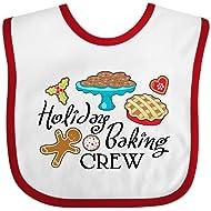 Inktastic - Holiday Baking Crew Baby Bib 2de6f