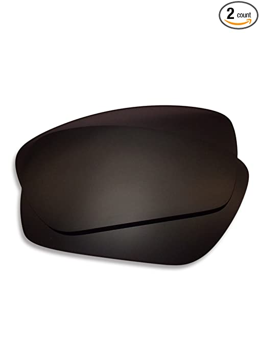 4a798c0fa8 Amazon.com  Lens Swap Dark Black Oakley Fuel Cell Lenses Polarized FITS  Perfectly. Oakley Fuel Cell Replacement Lenses (Non-Engraved)  Sports    Outdoors