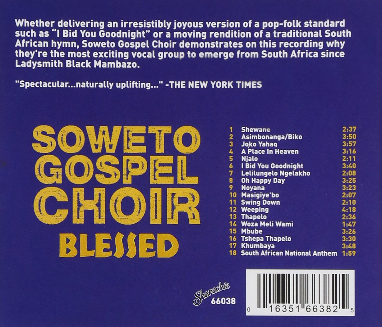 Blessed by Shanchie Records