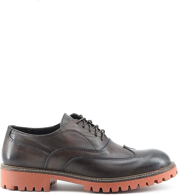 TALLA 42 EU. Made In Italia Shoes, Zapatos de Cordones Oxford para Hombre