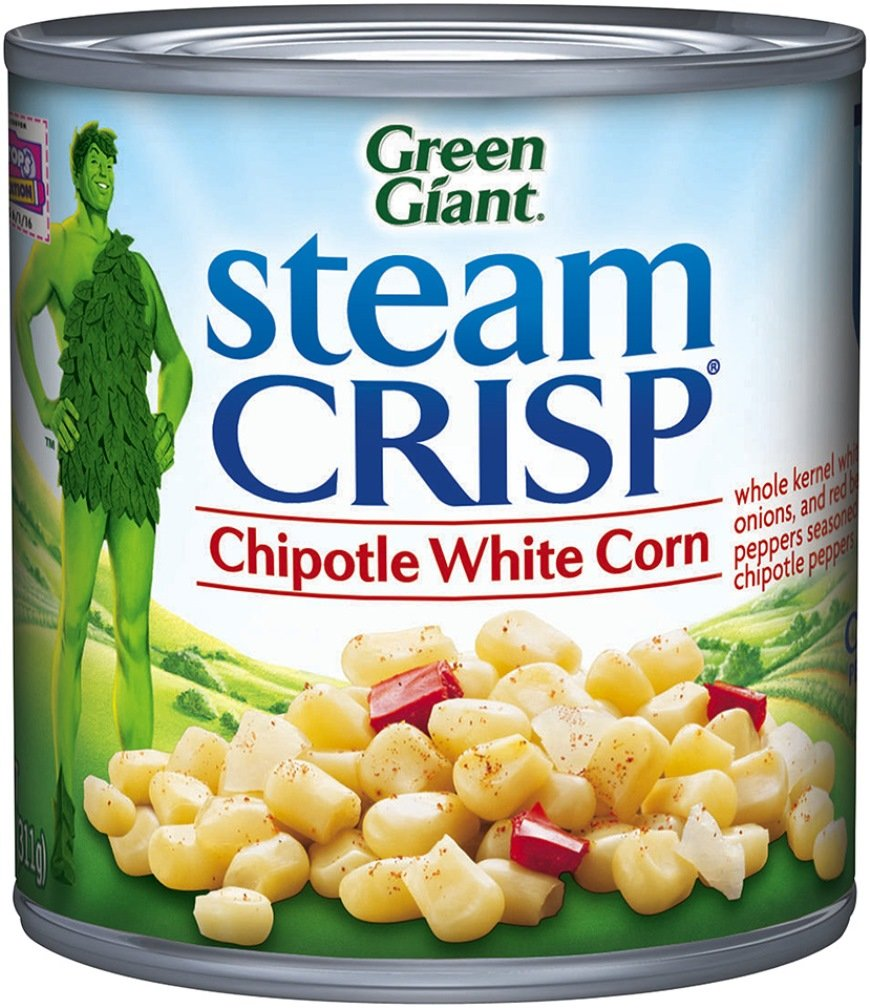 Green Giant Steam Crisp, White Corn, Chipotle, 11 Ounce by Green Giant