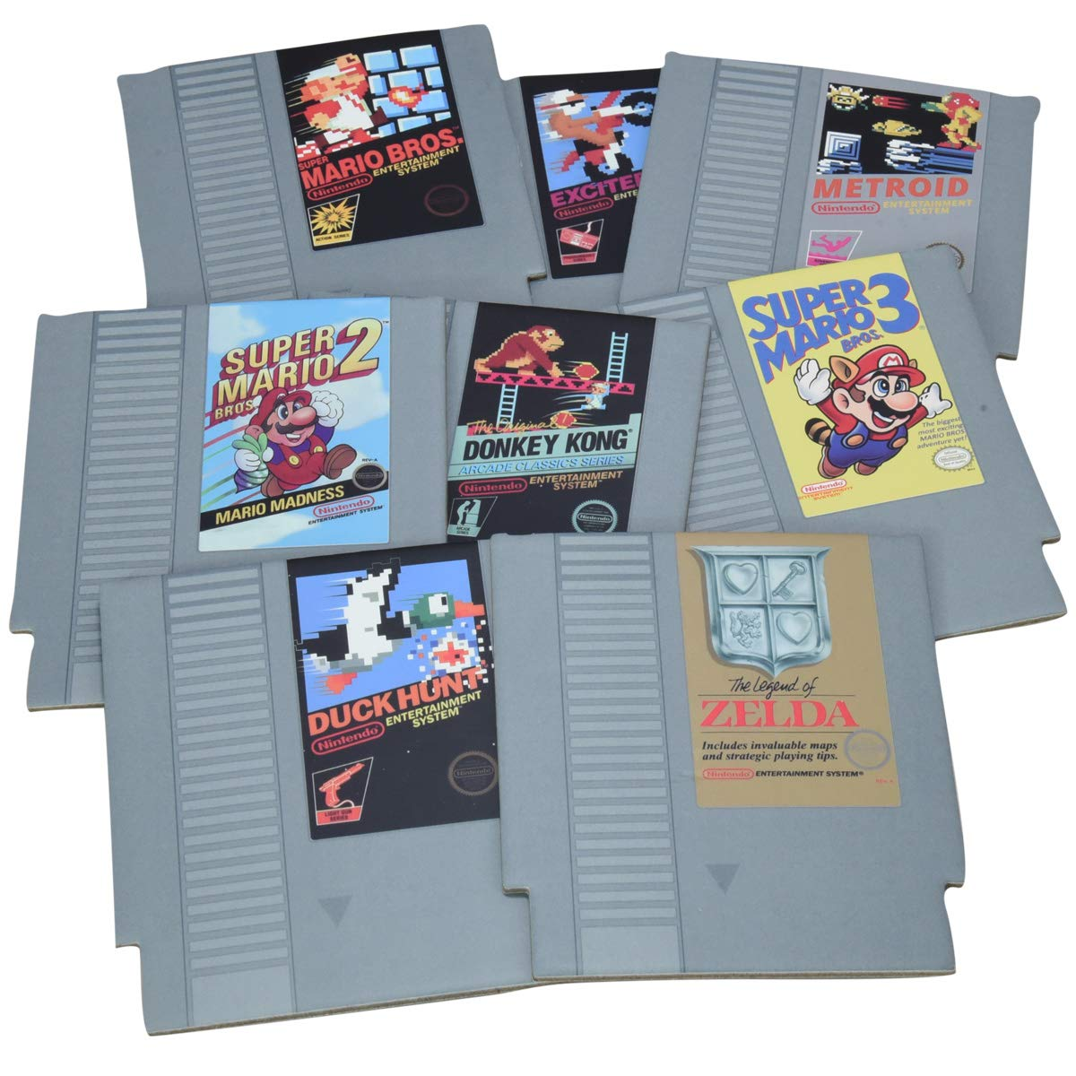 Paladone Nintendo NES Cartridge Coasters for Drinks by Paladone