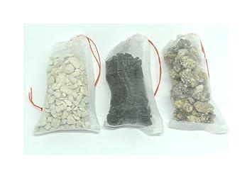 Paquete de filtros multimedios para acuarios de agua dulce, tropical, agua fría - bio carbón activado químicamente Zeolite: Amazon.es: Productos para ...