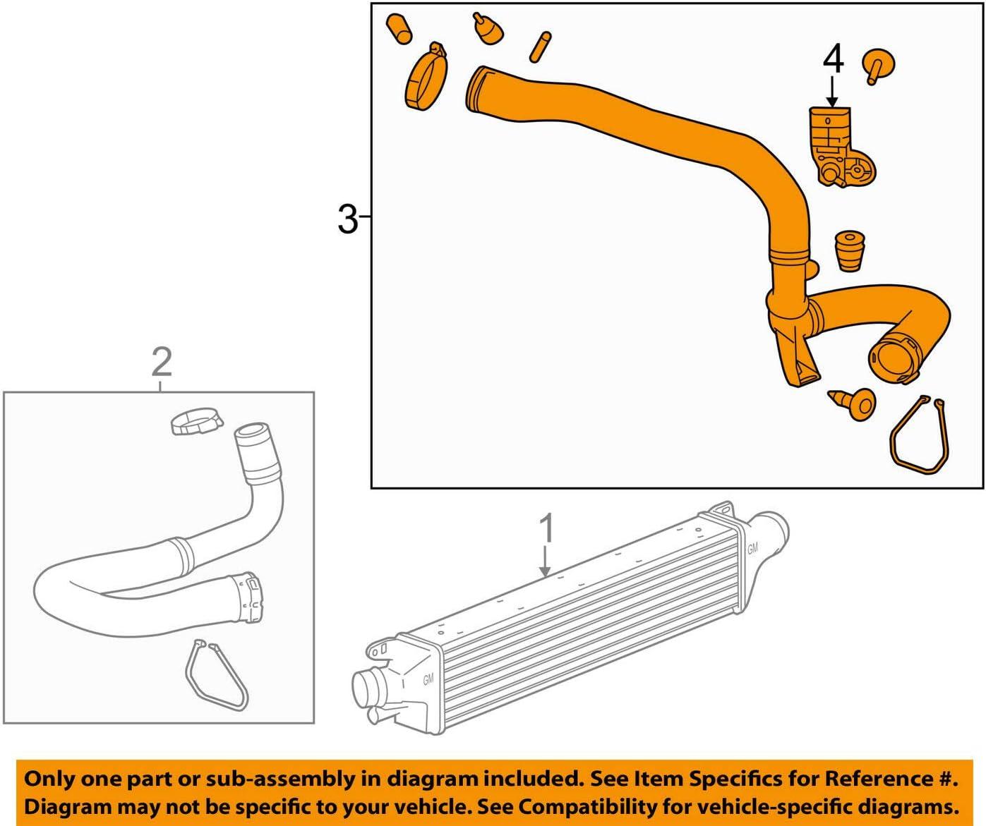 Chevrolet GM OEM 12-15 Sonic-Intercooler Hose Tube 95182749