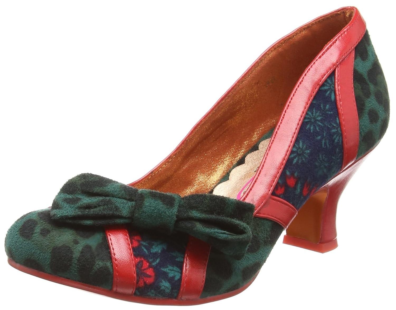 TALLA 41 EU. Poetic Licence by Irregular Choice Shake It, Zapatos de tacón con Punta Cerrada para Mujer