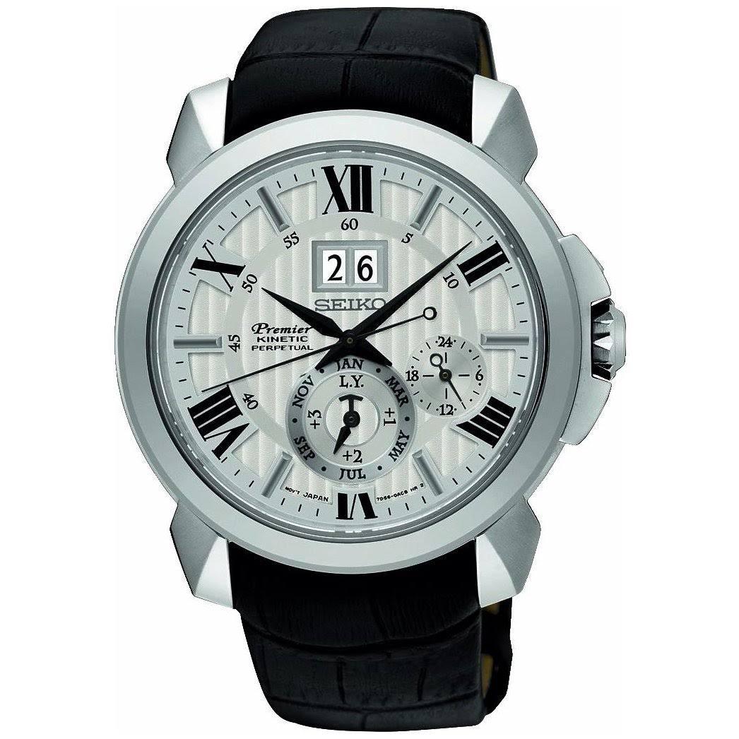 f486c847e Amazon.com: Seiko Premier SNP143P1 Watch Perpetual Calendar: Watches
