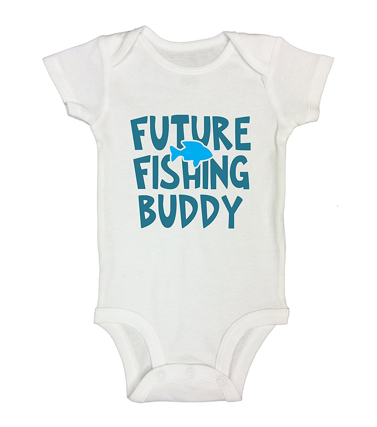 2af266557 Cute Fishing Onesie Daddy's Fishing Buddy RB Clothing Co 12 Months ...