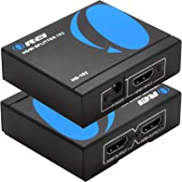 OREI HDMI Splitter 1 in 2 Out 4K - 1x2 HDMI Display Duplicate/Mirror - Powered Splitter Full HD 1080P, 4K @ 30Hz (One…