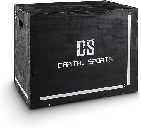 CapitalSports Shineater Caja de Salto Pliométrica de 3 Alturas 20