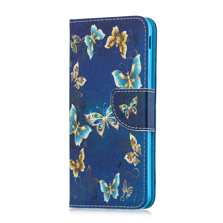 Artfeel Leder Brieftasche H/ülle f/ür Samsung Galaxy A7 2018//A750,Aquarell Blume Muster Flip Handyh/ülle mit Kartenhalter Tasche,Folio Bookstyle Magnetverschluss Stand Schutzh/ülle