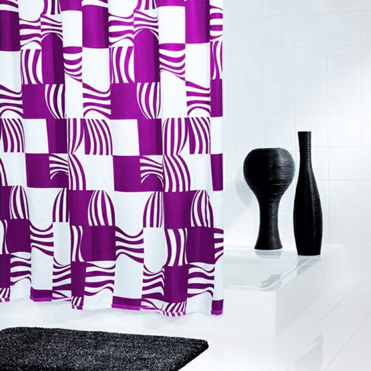 Zhuyuanhai 厚い不透明な防水カビポリエステルバスルームのシャワーカーテン増加浴室アクセサリー (Color : C) B07PYTDN6K C