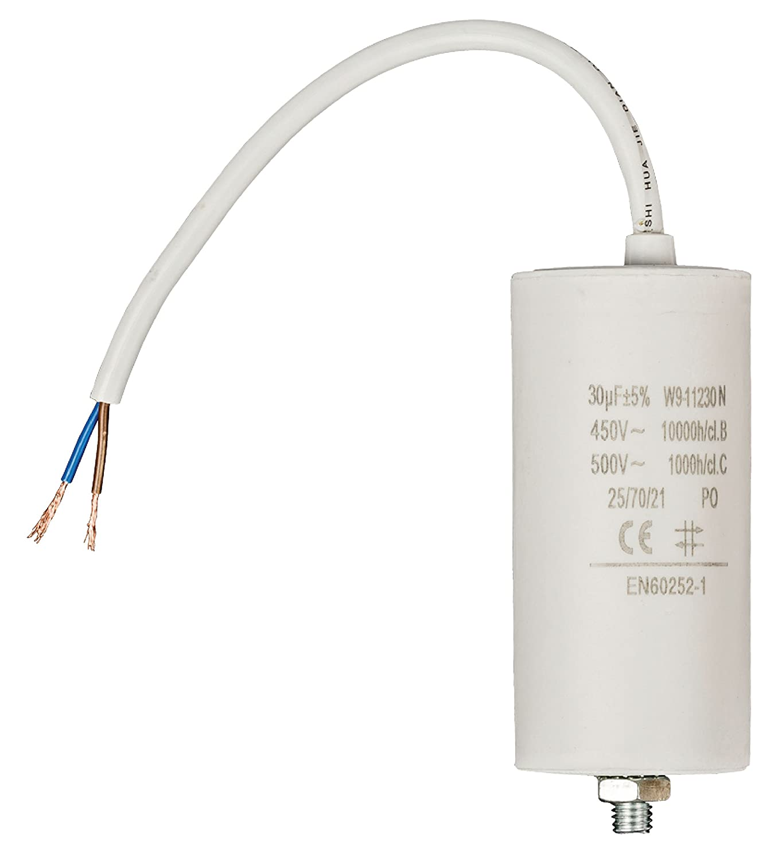 Kondensator Motorkondensator Anlaufkondensator Arbeitskondensator 450V 30.0 µF