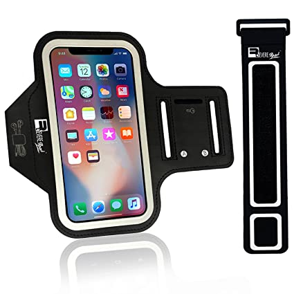 40e4796eff0c8 Revere Sport iPhone X/XS Running Armband (Face Recognition). Sports Phone  Case Holder for Runners & Gym Exercise