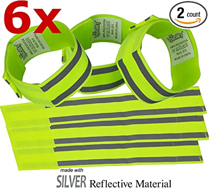 Stickers Pair ankle bands New 10 PCS LW Reflective Safety set Reflective Belt