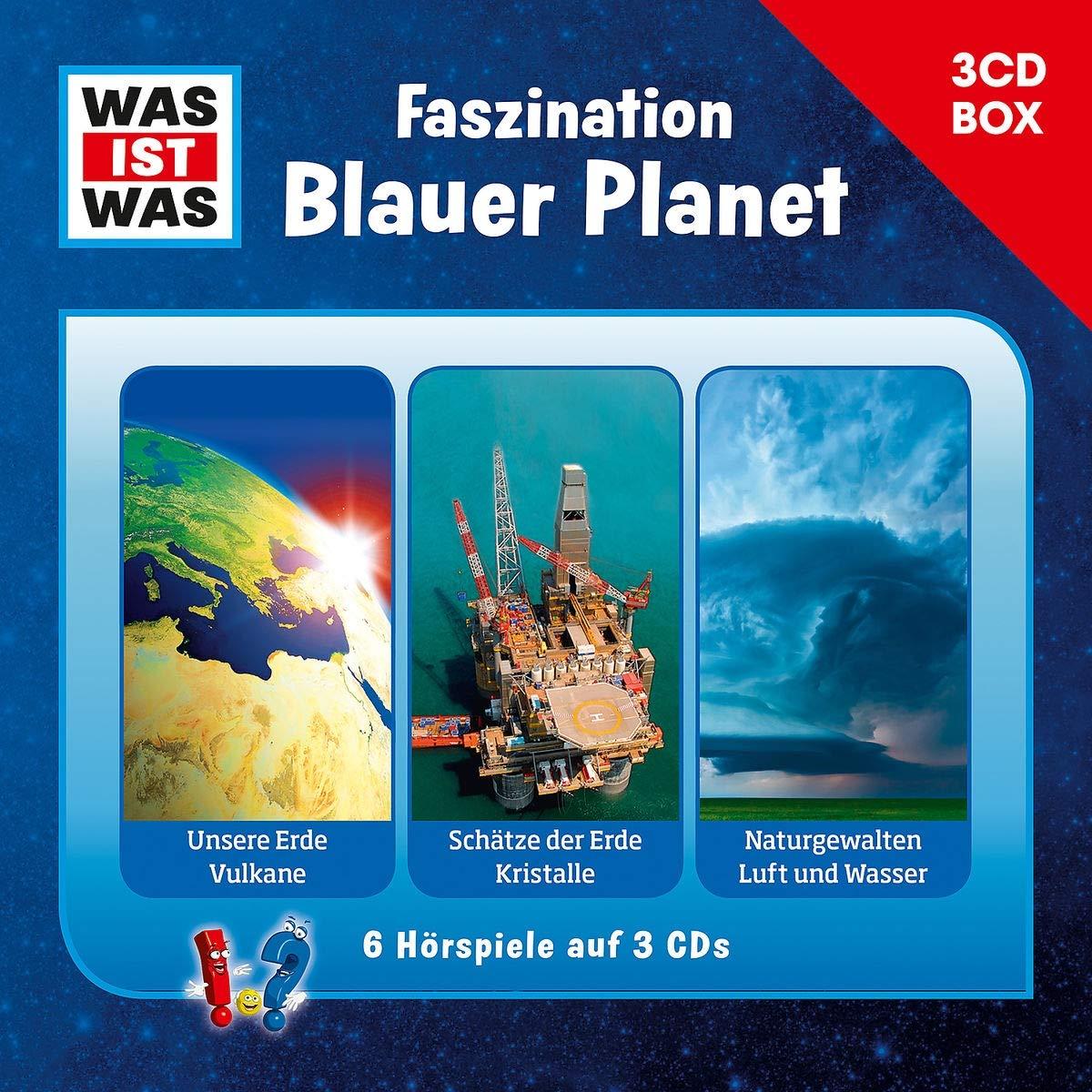 WAS IST WAS 3 CD Hörspielbox. Faszination Blauer Planet  WAS IST WAS Hörspiele