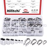 Hilitchi 195-Pcs M2 / 3/4 / 5 304 Stainless Steel