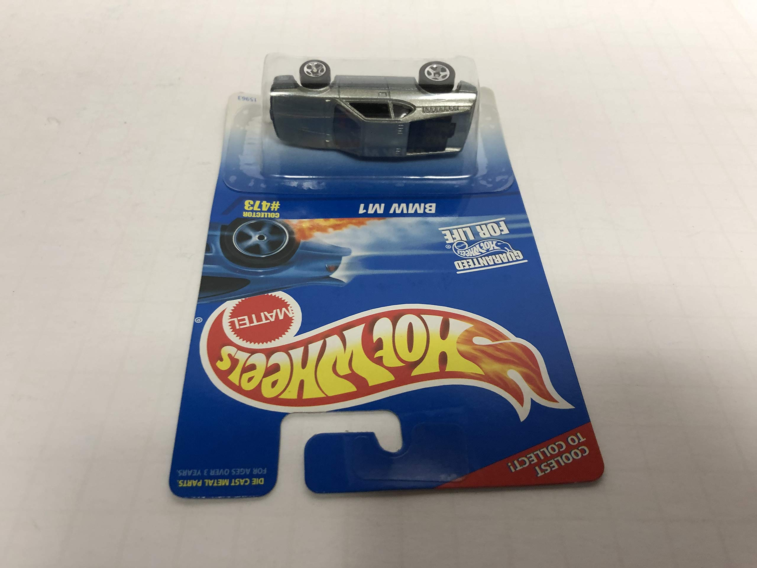 BMW M1 1996 Hot Wheels No. 473 diecast 1/64 scale car