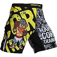 Shorts Hardcore Training Doodles Pantalones cortos MMA BJJ Fitness Grappling Hombre
