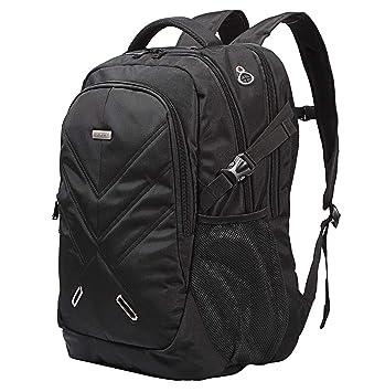 50L Laptop Mochila 18,4 pulgadas portátil mochila Lluvia Protección de agua Densidad con USB