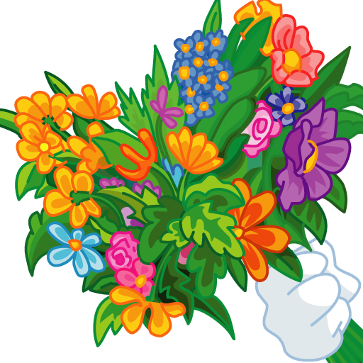 Make Bouquet with Beautiful flowers - Fun and Creative apps for Boys and Girls Any Ages, on Valentine, 8 March,Wedding,Birthday -