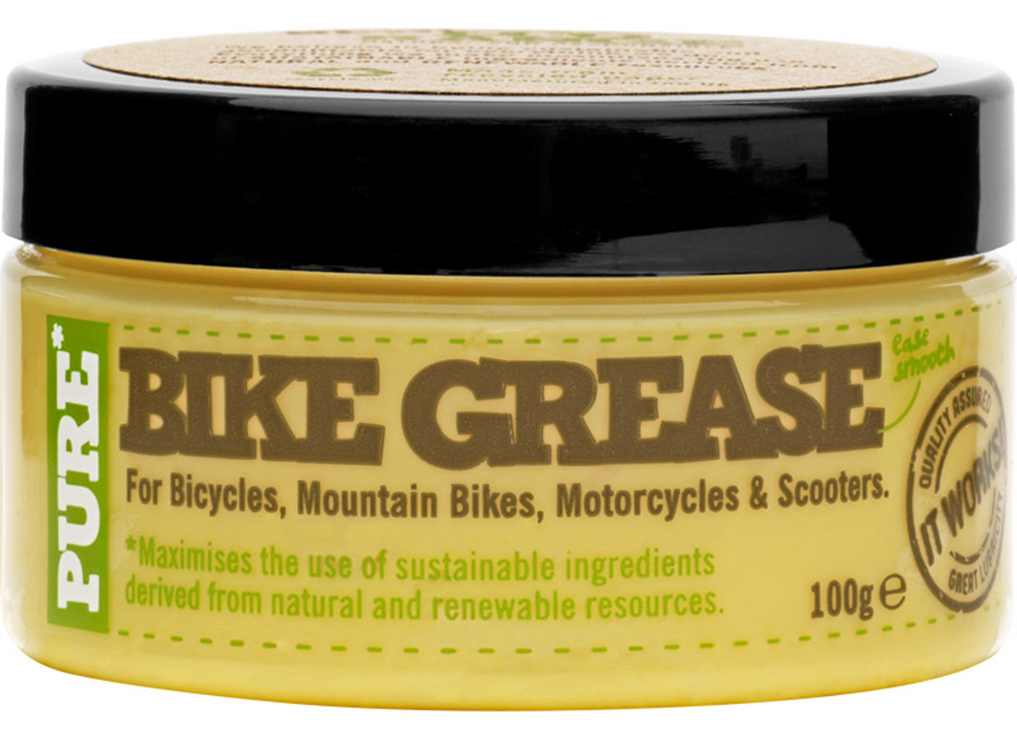 Pure Bike Grease, 3.5-Ounce