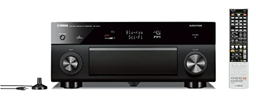 Yamaha RX-A1010BL 7.2- Channel Network AV Receiver (Discontinued by Manufacturer)
