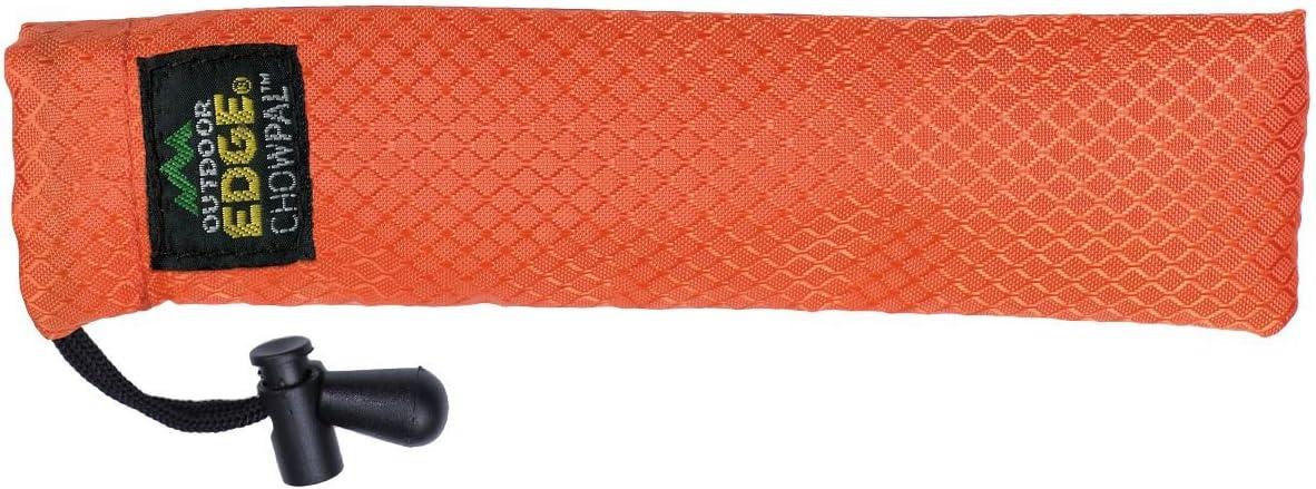 Cubiertos de Camping OUTDOOR EDGE Chow PAL Color Plateado 16,5 cm
