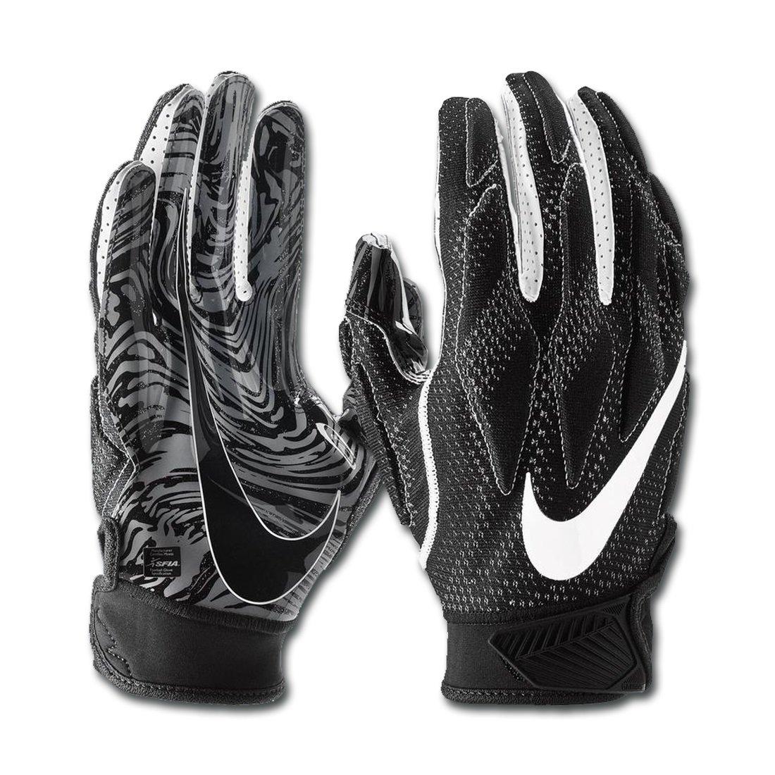 NIKE Men's Super Bad 4.5 Football Gloves (Black, XX-Large)
