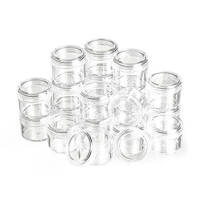 20 boîtes plastiques, couvercle à vis, 15 ml, Gros acheteurs VBS