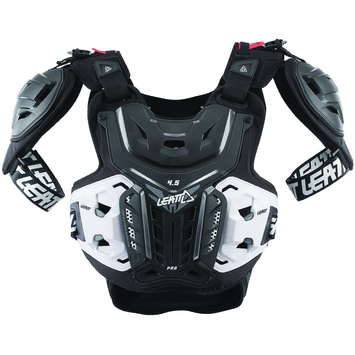 Leatt 5017120101 Black XXL Chest Protector,5 Pack