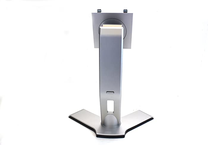 """Genuine Dell Replacement Silver Y Base Stand for 17"""" and 19"""" Flat Panel LCD Monitors Compatible With But Not Limited To: 1704FP, 1707FP, 1707FPt, 1708FP, 1708FPb, 1708FPf, 1904FP, 1905FP, 1907FP, 1907FPb, 1907FPt, 1908FB, 1908FP, 1908FPb, 1908FPc, 1908FPf, 1908FPt, E156FP, E157FP, E176FP, E177FP, E196FP, E197FP, E198FP, E198WFP, E207WFP, SE178WFP, SE198WFP, S198WFP, S199WFP, SP2008WFP, 2007WFP Compatible Dell Part Number: RW0HN"""